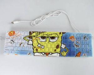 Toetsenbord USB van het Af:drukken van de douane het Volledige Waterdichte Creatieve Getelegrafeerde