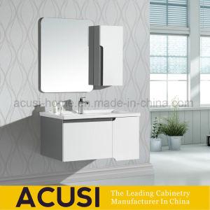 MDF lacado de madera contrachapada muebles moderno cuarto de baño ...