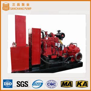 디젤 엔진 수평한 균열 케이스 화재 Cenrtifugal 펌프