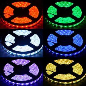 W/Cor RGB LED5050 Flexble SMD Watertproor Strip para mercado/Hotel/Aeroporto/Quarto Decoração
