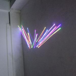 段階DJのディスコDMXのアニメーションRGBの小型レーザー光線
