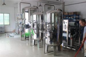 Filtre à charbon en acier inoxydable Réservoir / filtre à sable pour système d'irrigation