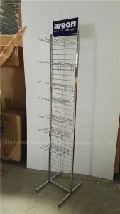 Супермаркет Electroplating проволочной сетки дисплеев для подвешивания пунктов