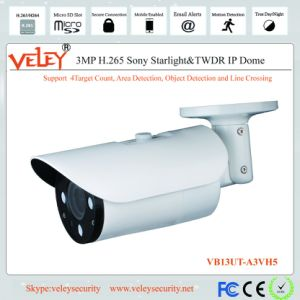 60m IR Varifocal WDR CCD bullet CCTV Cámaras IP de red