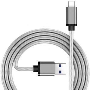 USB Braided di nylon 3.1 a del cavo di USB-C 3.0 a tipo cavo di sincronizzazione della data della lega di alluminio di C