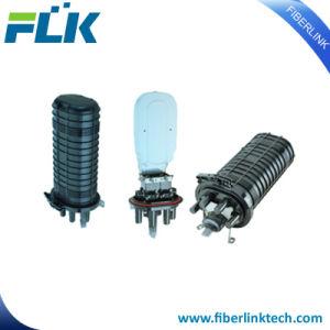 Empalme de fibra óptica de 4 puertos de cierre de la FOSC Domo