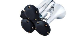 Серебристый электрический высокочастотный громкоговоритель 12V для автоматического включения дополнительного оборудования