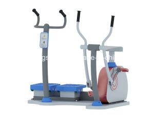 Gimnasio al aire libre niños Gimnasio/Equipos de ejercicios físicos para los niños al aire libre Health-Elliptical Cross Trainer