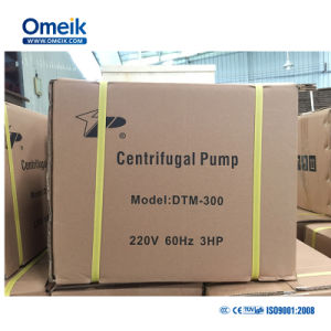 Dtm Heavy Duty Nettoyer la pompe à eau centrifuge