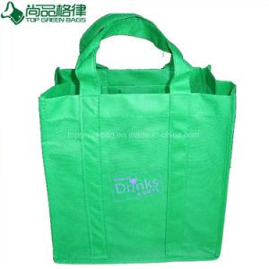 La fabbrica comercia il sacchetto all'ingrosso di Tote non tessuto ecologico del vino delle 6 bottiglie
