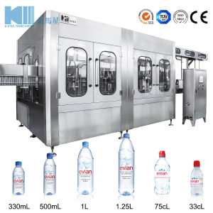 10000bph 500ml Garrafa de Enchimento de Água/legendagem/máquina de embalagem