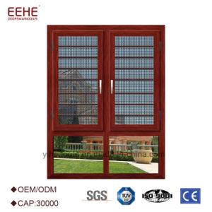 De binnenkomende Open die Grootte van de Openslaand ramen van het Aluminium voor Huis wordt aangepast