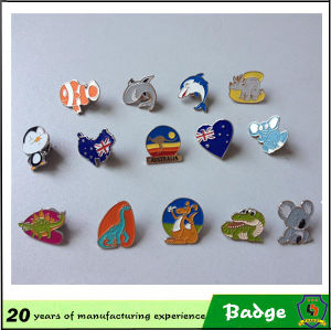 주문 Metal 3D Enamel Badge
