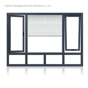 Finestra di alluminio della stoffa per tendine termica della rottura (FT-W70)