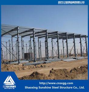 Nuevo edificio de acero prefabricados de estructura de acero/.