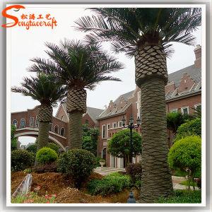 Для использования вне помещений оформление стекловолокна искусственные сроки Palm Tree