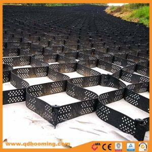 熱い販売の建築材料の溶接強さによってカスタマイズされる黒いHDPE Geocells