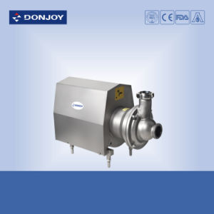 Les mesures sanitaires Self-Priming en acier inoxydable (CIP+) de la pompe