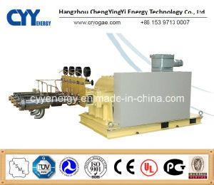 Cyyp 61 Servicio ininterrumpido gran caudal y de alta presión de oxígeno líquido de GNL de Argón Bomba de pistón de nitrógeno multiseriados