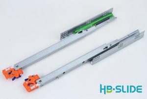 Скрыть Undermount полного выдвижения лотка слайд с регулируемой ручки CS803sh