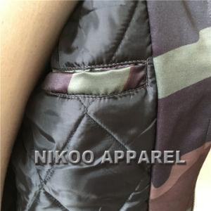 도매 주문 승화 면 패딩 폭격기 재킷