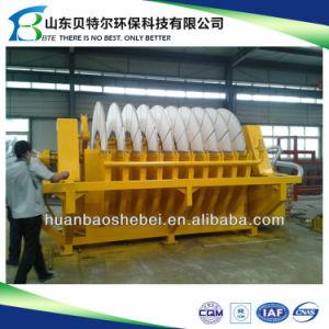 Machine de déshydratation de boues d'exploitation minière, de la céramique du filtre à disque