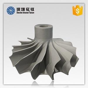 Impulsor de titânio para válvula/bomba/Turbocompressor, Fabricante do impulsor de titânio