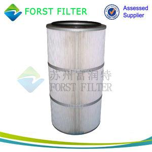 Materiaal van de Filter van de Lucht van Spunbonded van het Micron van Forst het Polyester Geplooide
