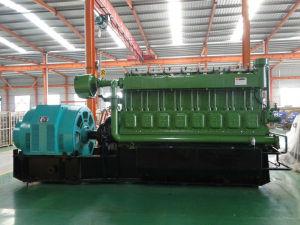 Alto generatore 500kw del gas di scarico della raffineria di petrolio del generatore dell'idrogeno
