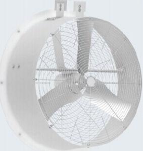 Erfinderischer FRP Polyventilator 6  für das Viehbestand-unterbringende Übertragungsabkühlen