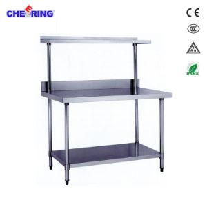 元気づけるコマーシャルはステンレス鋼のワークテーブルをアセンブルする