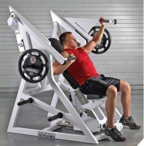 Pressa della spalla della pendenza del Rogers della strumentazione professionale di forma fisica/macchina atletiche costruzione di corpo