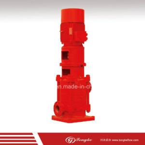 FM Multisatge verticales bomba de agua para la lucha contra incendios