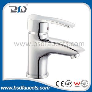 Moderner konzipierter Wasser-Einsparung-Gussteil-Messingbassin-Einhebelhahn