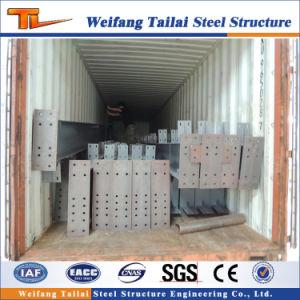 Estructura de acero de materiales de construcción de la columna de estructura de acero