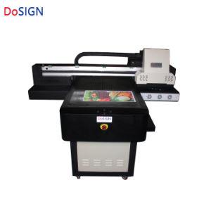 La fábrica de circulación de agua nueva textura en relieve 3D de 2 cabezales de impresión A1 de superficie plana UV impresora digital