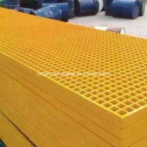 Rejilla de fibra de vidrio de alta resistencia para la Pasarela GRP rejilla de plástico reforzado con fibra