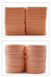 El polvo de cosmética belleza Puff Puff de esponja de maquillaje de etiqueta privada 20pcs/bolsa