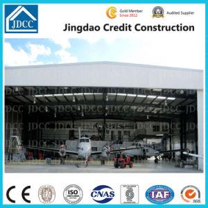 Cicd panneau sandwich Structure en acier préfabriqués aircraft hangar