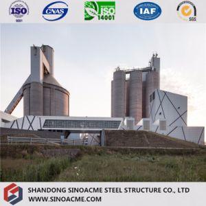 África prefabricado Industrial Estructura de Acero Galvanizado Nave