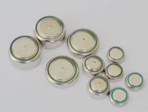 Alkalische Manganeses AG12 L1142, Lr43 de Batterij 1.5V 108mAh van de Cel van het Muntstuk van de Knoop