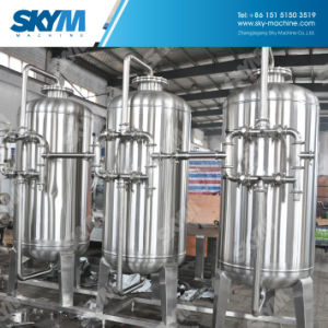 RO d'Osmose Inverse de l'unité de filtration de purification de l'eau de la machine de remplissage