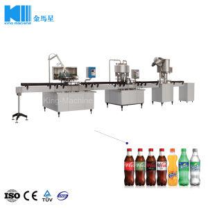 1000bph 500ml Flaschen-gekohltes weiches Getränkefüllende Verpackungsmaschine