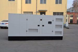 Звуконепроницаемые типа /водяного охлаждения/электрический/ мощность 140 квт дизельный генератор с корпусом