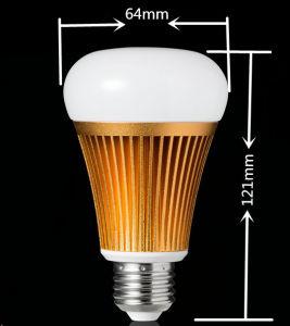 L'éclairage LED intelligents Rgbww Mobile App Smart de contrôle de la maison longue portée WiFi Ampoule de LED témoin de lampe