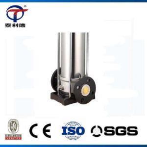 Accueil de la pompe de gavage de pipeline à plusieurs degrés verticaux en acier inoxydable de la pompe à eau