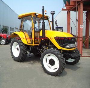 De populairste Goedkope China Tractor Van uitstekende kwaliteit van Dq754b 75HP 4WD met de Cabine van Conditiong van de Lucht