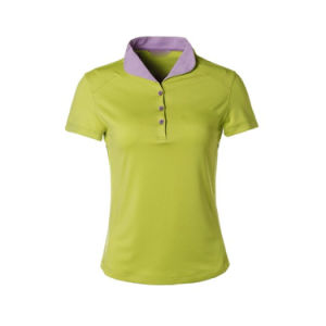 주문 주문을 받아서 만들어진 옷 의류 보통 공백 또는 줄무늬 인쇄하거나 인쇄한 자수 의복 또는 의복 면 불쾌 또는 저어지 숙녀 폴로 티 셔츠