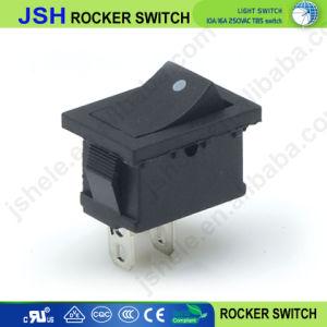 Pequeno Interruptor Spst 10*15mm e Interruptor Eléctrico de 2 Pinos