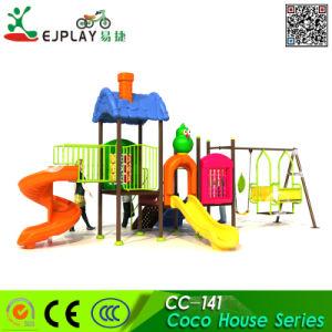 La Maternelle de petite taille des enfants en plastique extérieure terrain de jeux extérieur du tube Spirial diapositives jouets d'équipement